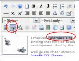 JCE Joomla Editor Insert Edit Link