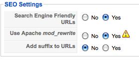 Joomla_search_engine_friendly_url_setting
