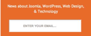 MailChimp Newsletter Signup