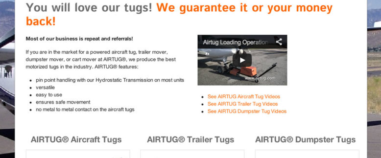 Airtug migration from X-Cart to WordPress / WP Ecommerce