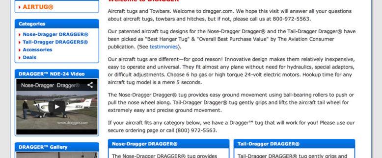 Dragger X-Cart Website