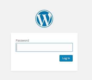 Password Protected Login Box