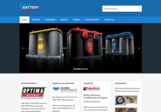 New Website Millbatteries